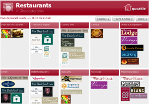 Gloucestershire Restaurants